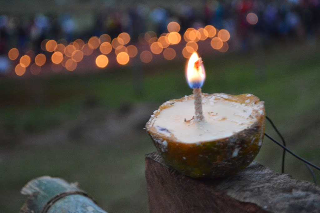 Tañarandy Festival Candles