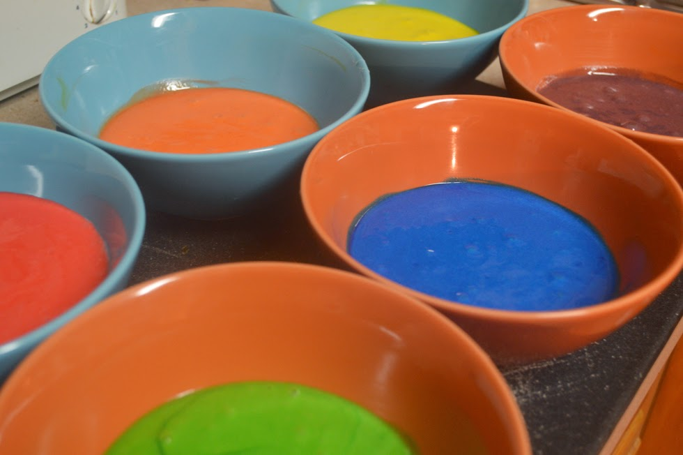 Delicious and Groovy Tie-Dye Cake Recipe