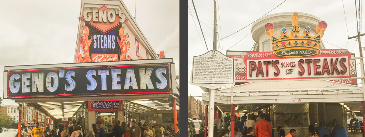 Move By Yourself: Ultimate Philly Cheesesteak Taste Test