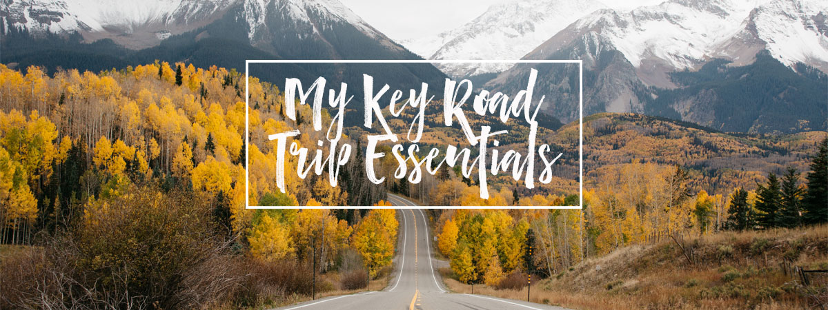 Move By Yourself: My Key Road Trip Essentials